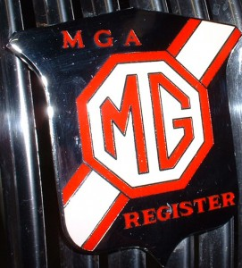 MGA grill badge 2