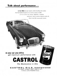 MGA Castrol Advert
