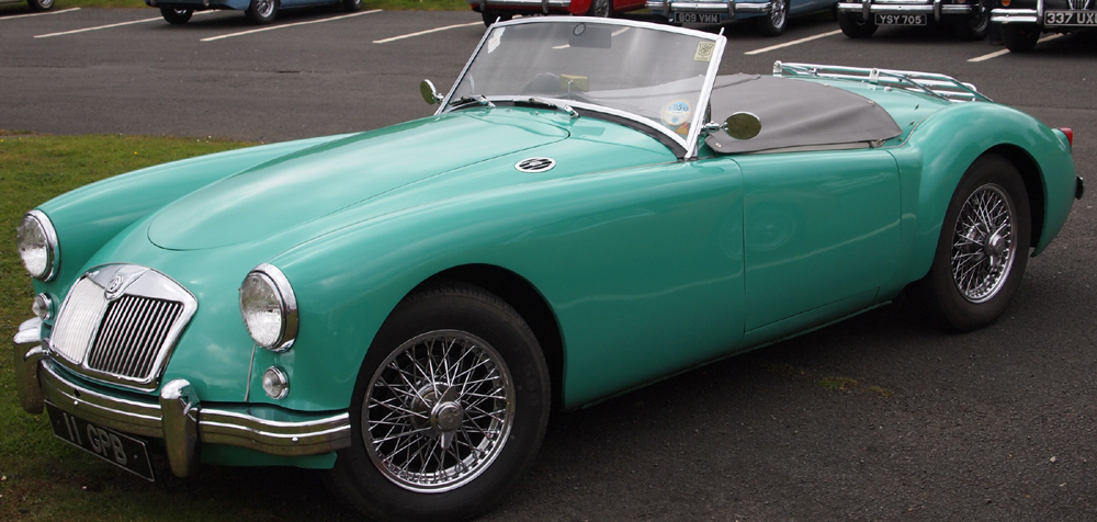 Tyrolite Green BMC Paint Code GN7 Available On Early 1500 Roadsters Interior  Trim: Grey Or