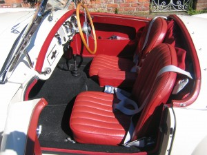 Red trim available throughout the production period These are standard style seats