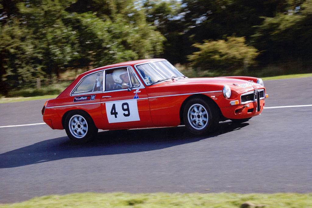 Luffield Speed Championship MGB