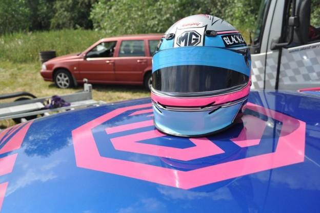 Ali Rushforth Helmet