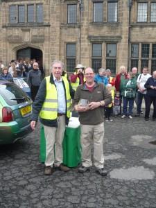 Richard Pearson Prebends Trophy Winner MGF