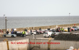 SCR cars at Seahouses 1