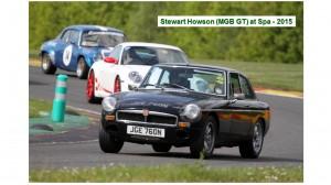 Stewart Howson MGB GT at Spa