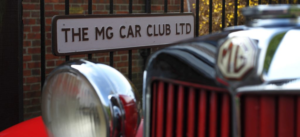 MG Car Club - KH and T Type 2