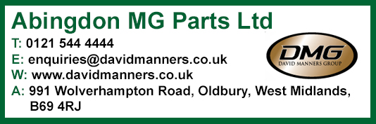 Abingdon MG Parts