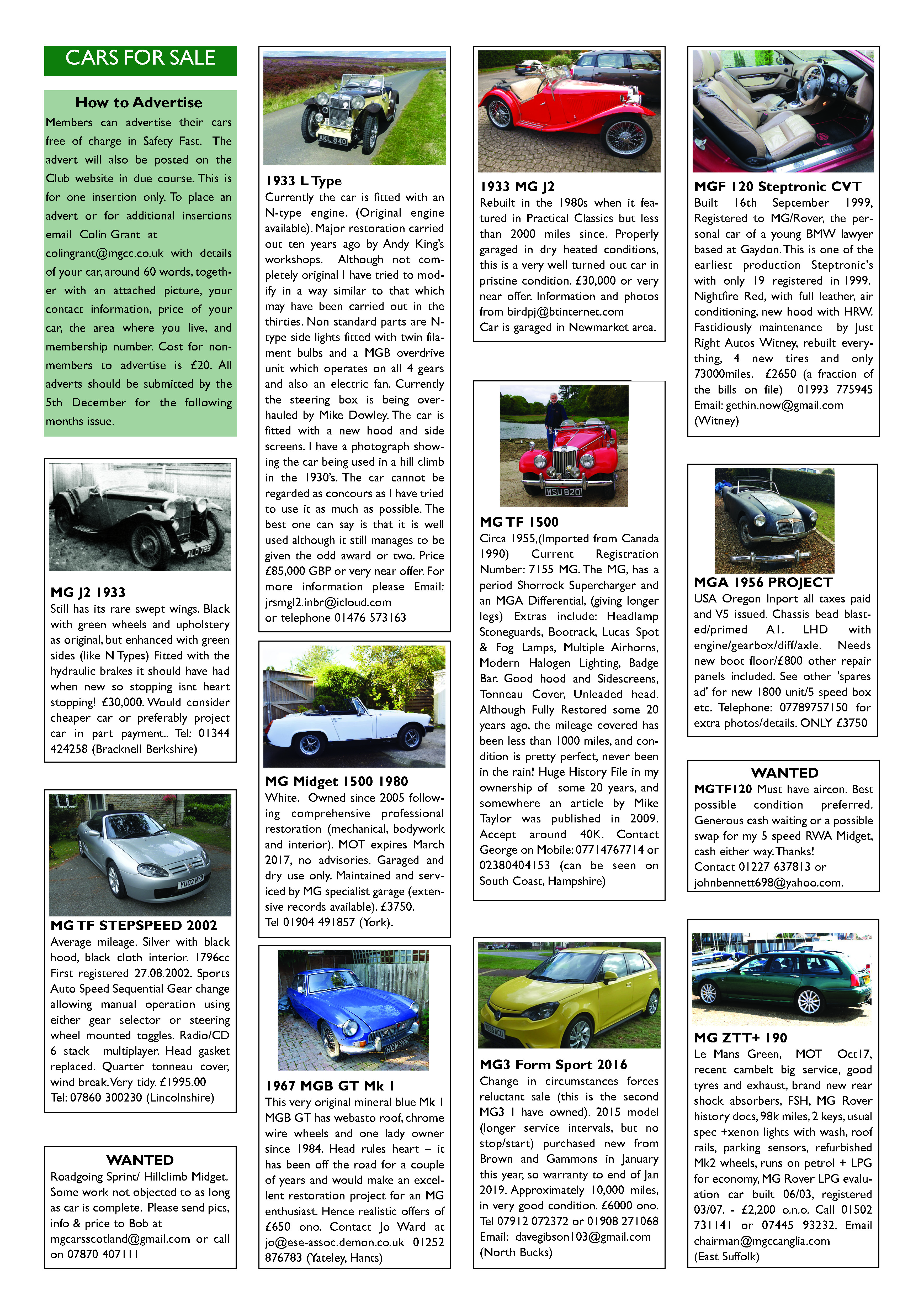 december-classisfieds-2016-updated_page_1 - MG Car Club