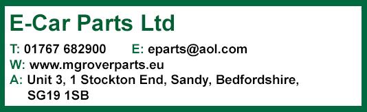 E-Car Parts Ltd