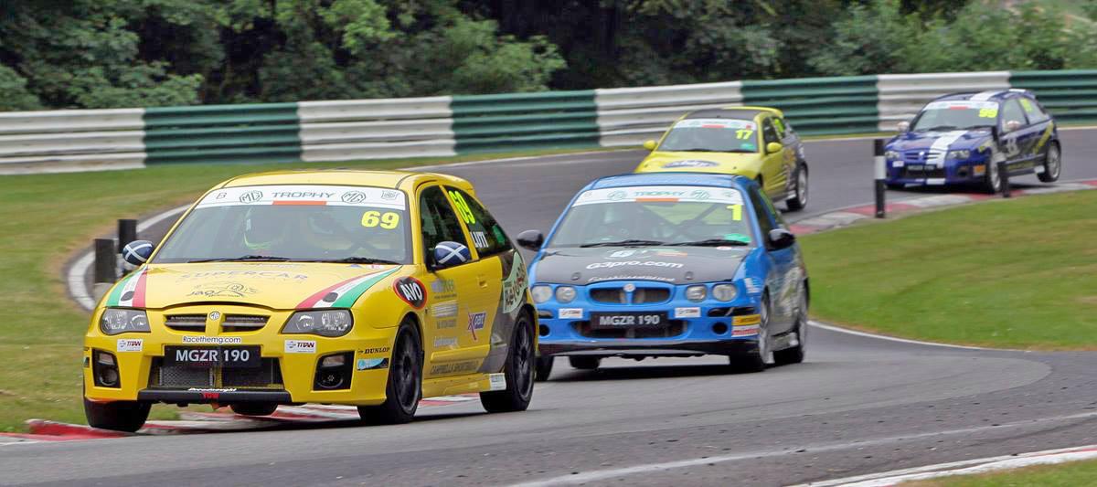 MGCC Cadwell Park - Race Report - MG Car Club