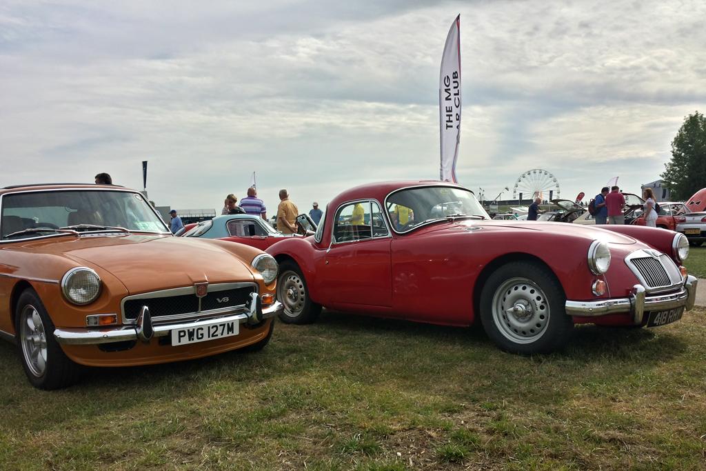 Mg Car Club Silverstone Classic