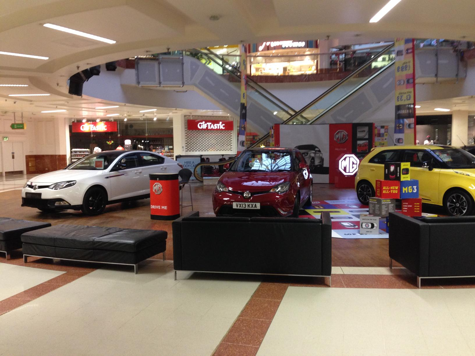 Mg Pop Up Dealership In Merry Hill Mg Car Club