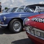 The MGC Register parking was home to a number of special models.