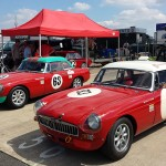 Open paddocks and pits gave visitors a real insight into the world of motorsport.