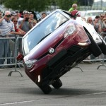 Russ Swift showing you how not to drive an MG3!