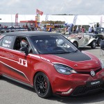 The MG3 Trophy concept car. Will we see it racing against the ZRs next season? Only time will tell.