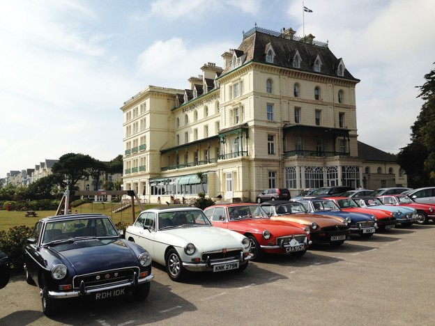 MGB Register Weekend Falmouth