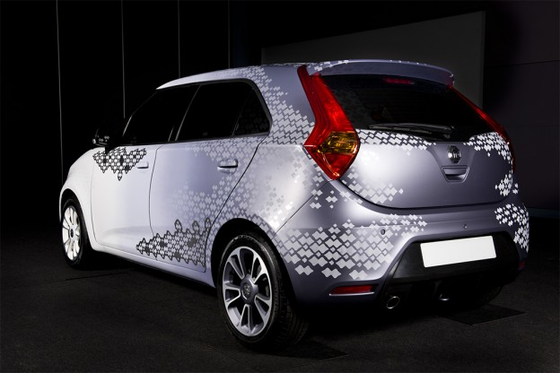 MG3 Design Concept - future personalisation