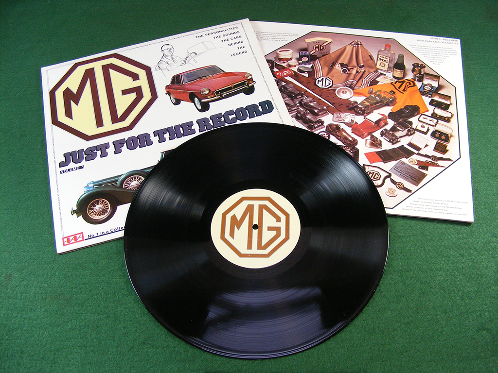 MG - Just for the Record