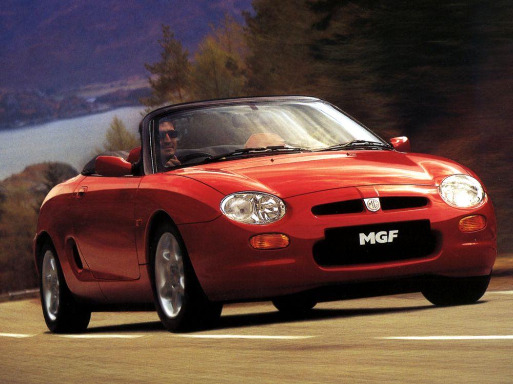 Happy Birthday, MGF! - MG Car Club