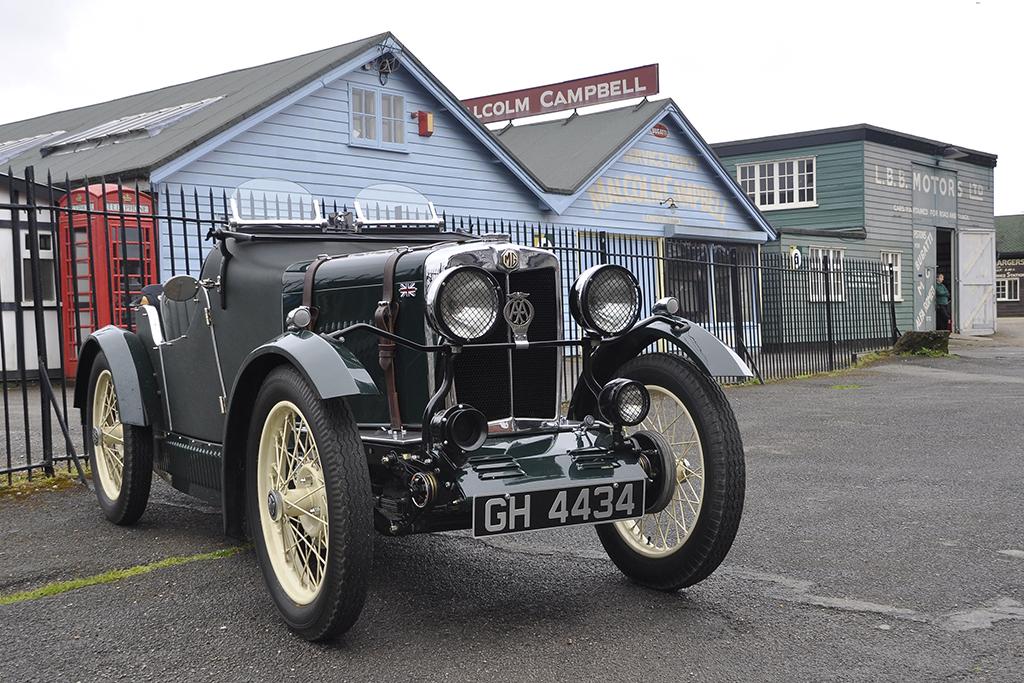 Brooklands MG ERA 2015 - MG Car Club
