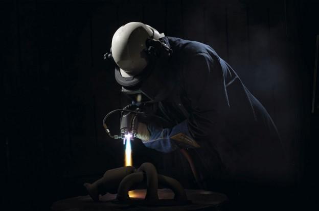 Plasma Spray by Hand