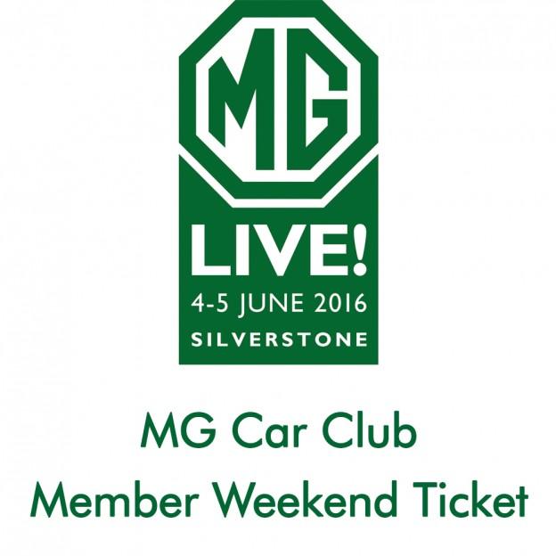 Member Weekend Ticket