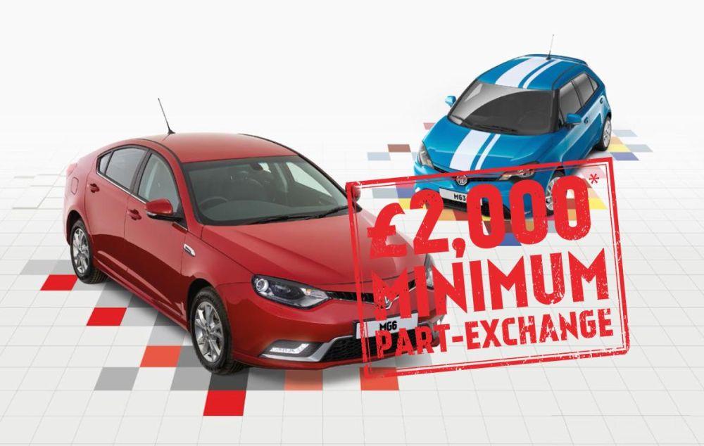 Part exchange car deals - nottingham