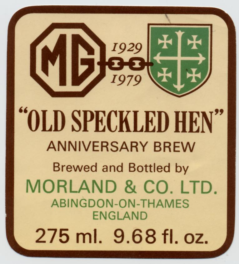 Old Speckled Hen 2
