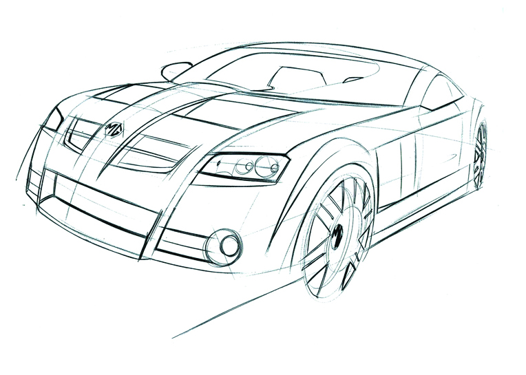 The Mg Supercar