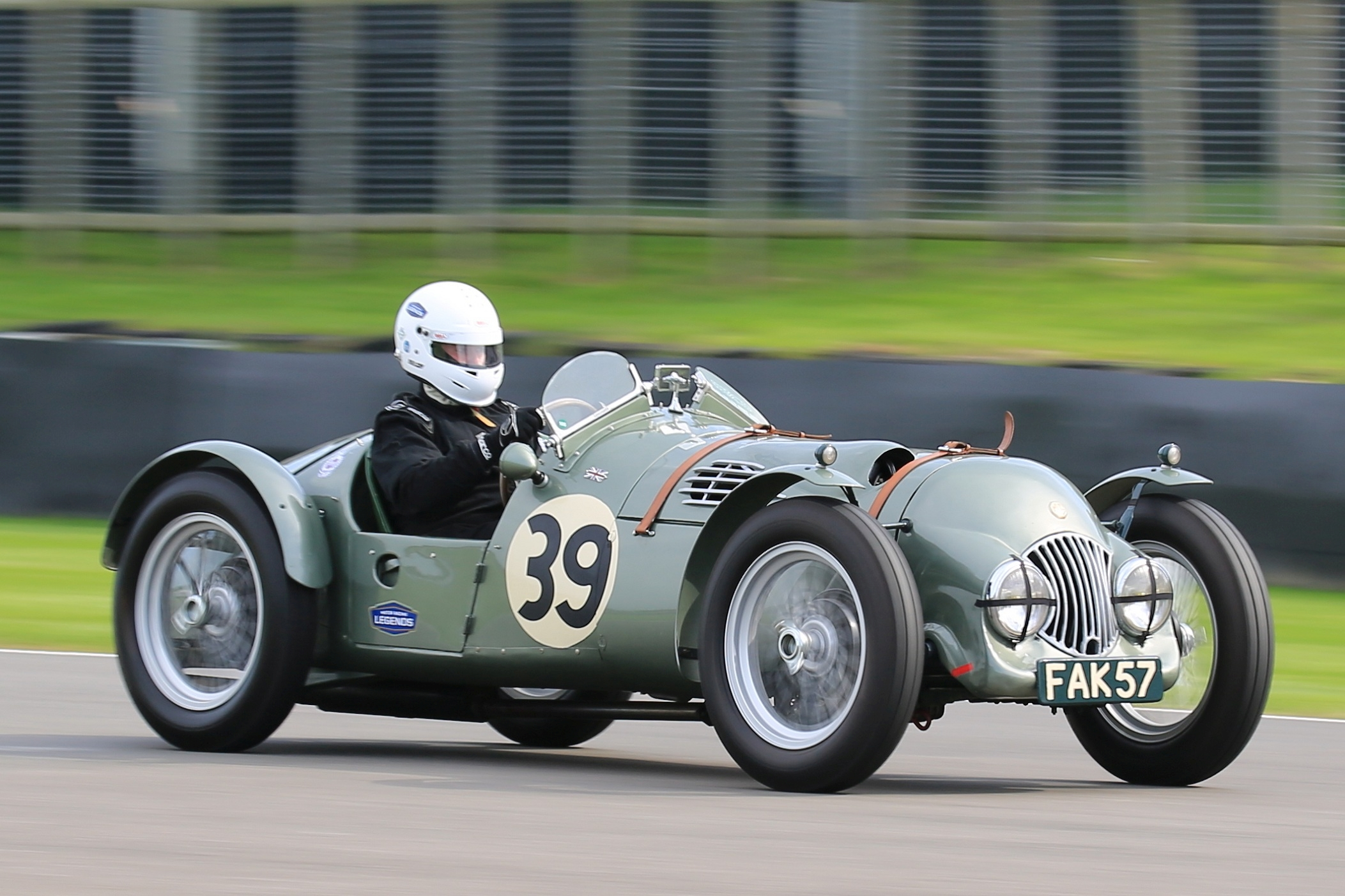 Car Auction Apps >> FAK57 accepted into Le Mans Classic 2016 - MG Car Club