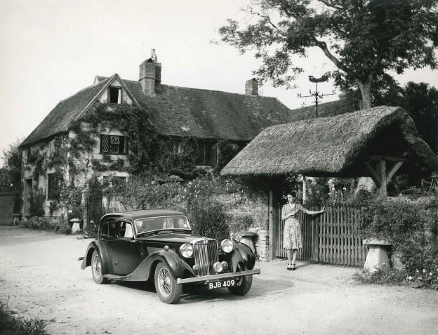 MG SA Saloon cottage
