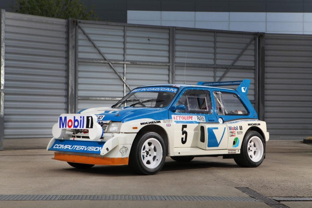 Rally legend joins MGCC at Classic Motor Show - MG Car Club