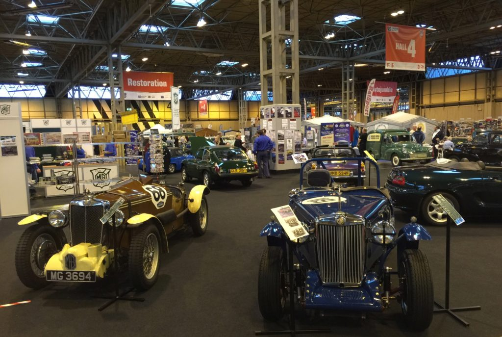 Counting Down To The NEC Classic Motor Show MG Car Club - Mg car show