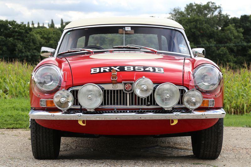 Ex Works Mgb Brx 854b Listed For Sale Mg Car Club