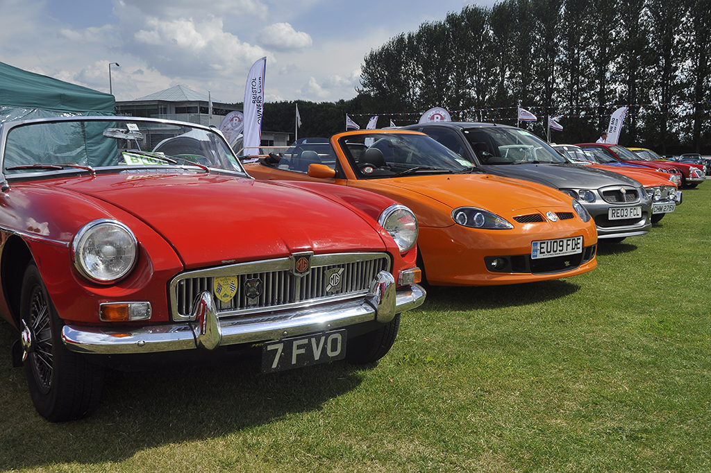 Silverstone Classic update - MG Car Club