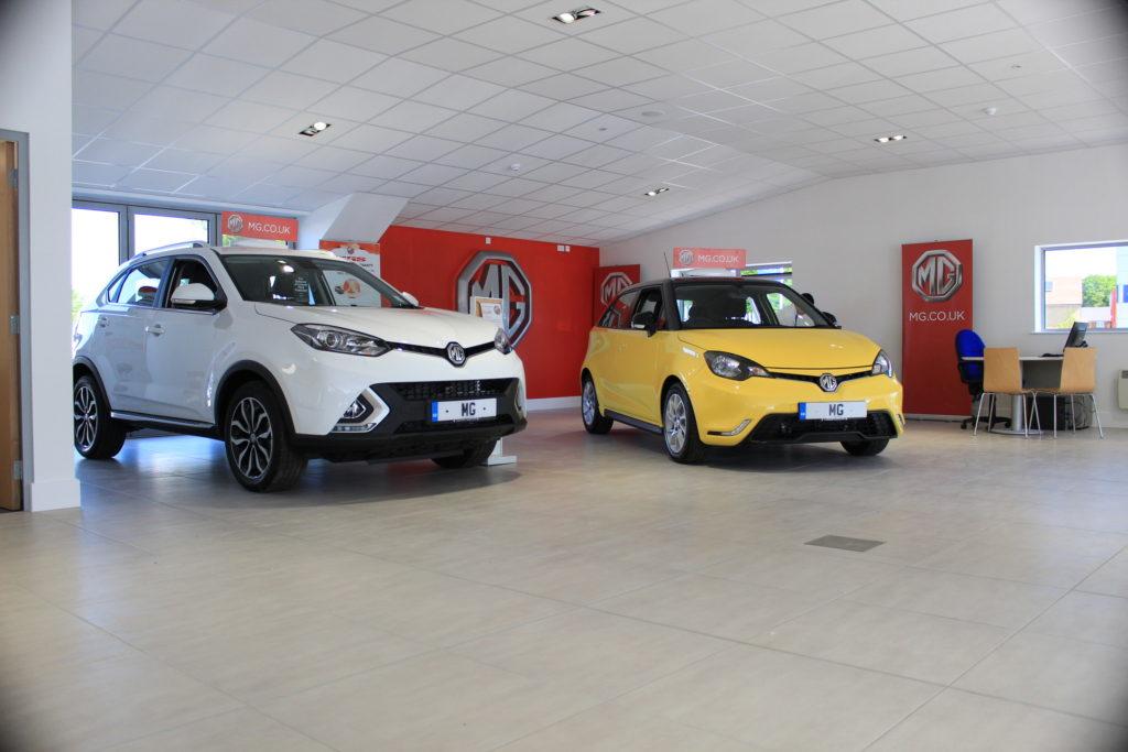Maidstone Mg Opens New 1m Showroom Mg Car Club