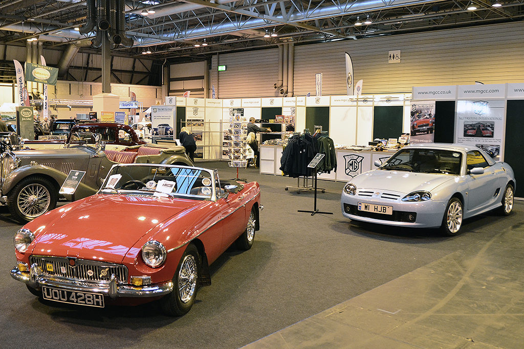 MGCC Display At The NEC Classic Motor Show This Weekend MG Car Club - Mg car show