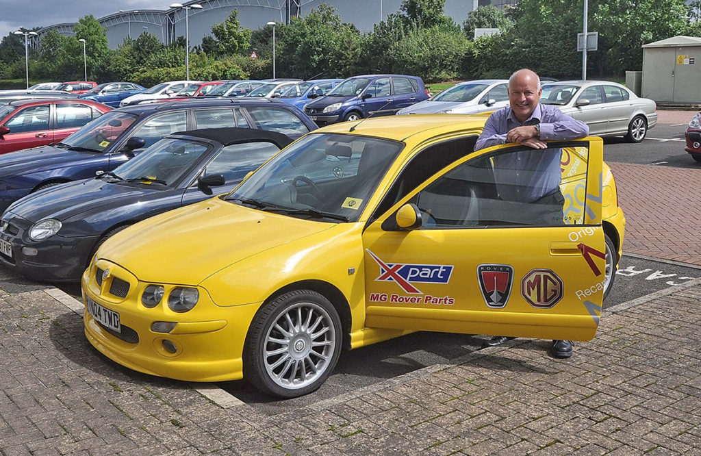 Xpart Becomes Part Of Leacy Motor Group Mg Car Club
