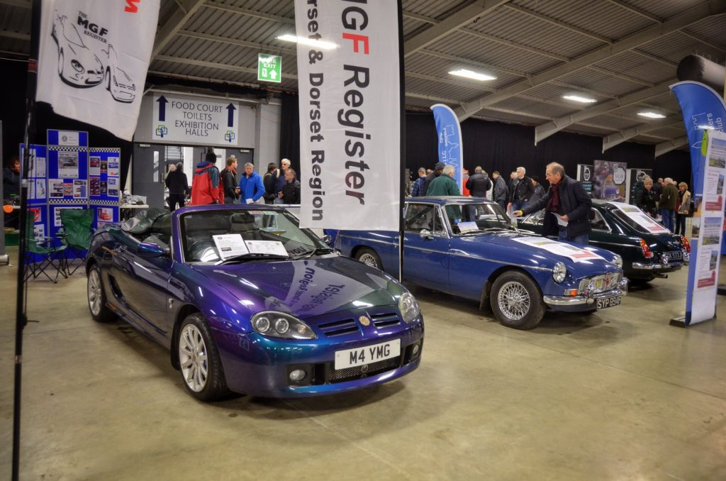 MGCC Registers fly the flag at MG and Triumph Spares Day - MG Car Club
