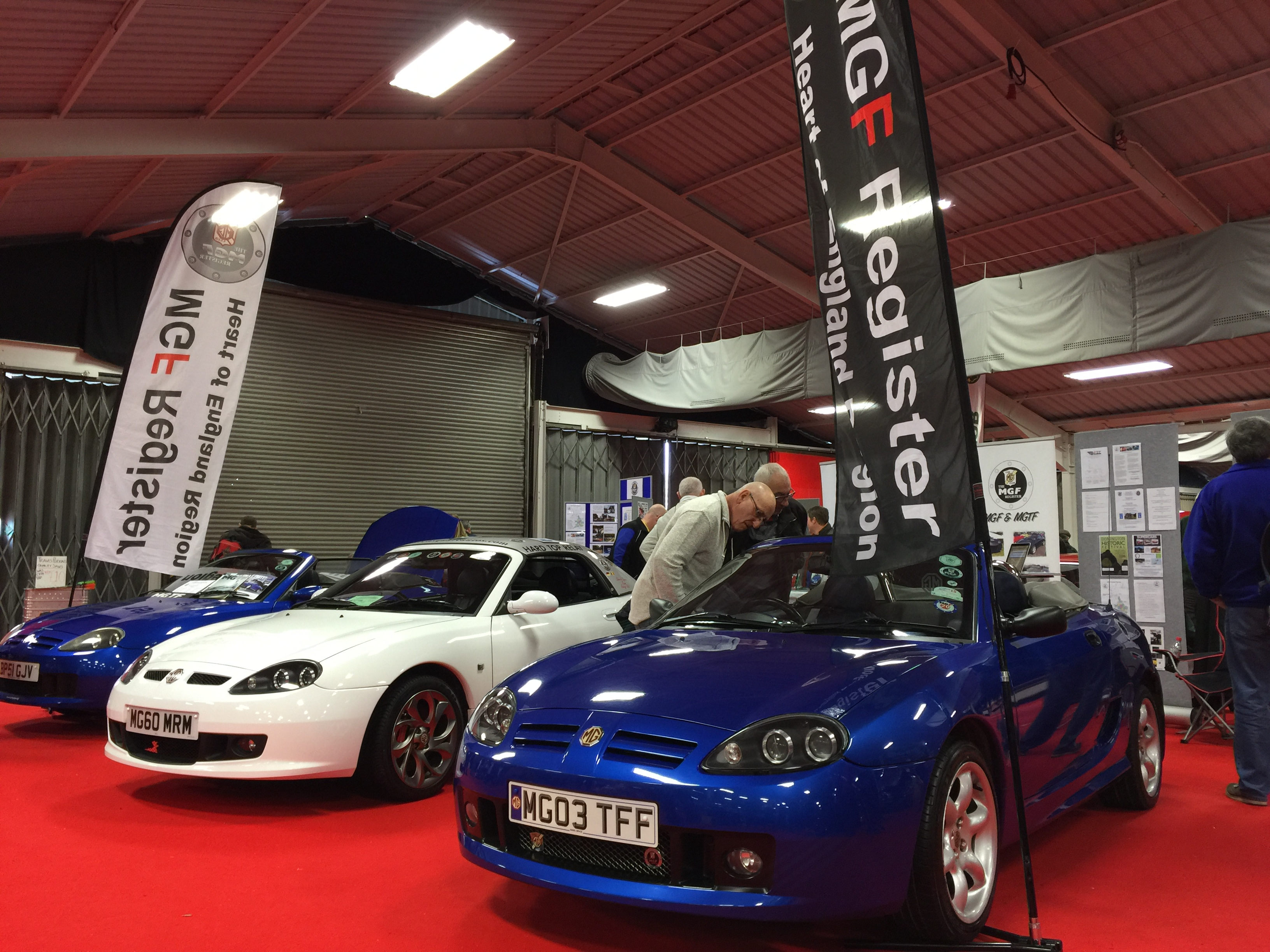 mgf stand stoneleigh 2017 mg car club. Black Bedroom Furniture Sets. Home Design Ideas