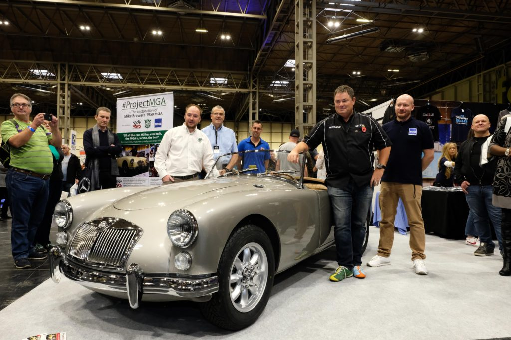 Project MGA: Part 7 - Final Assembly & Unveil - MG Car Club