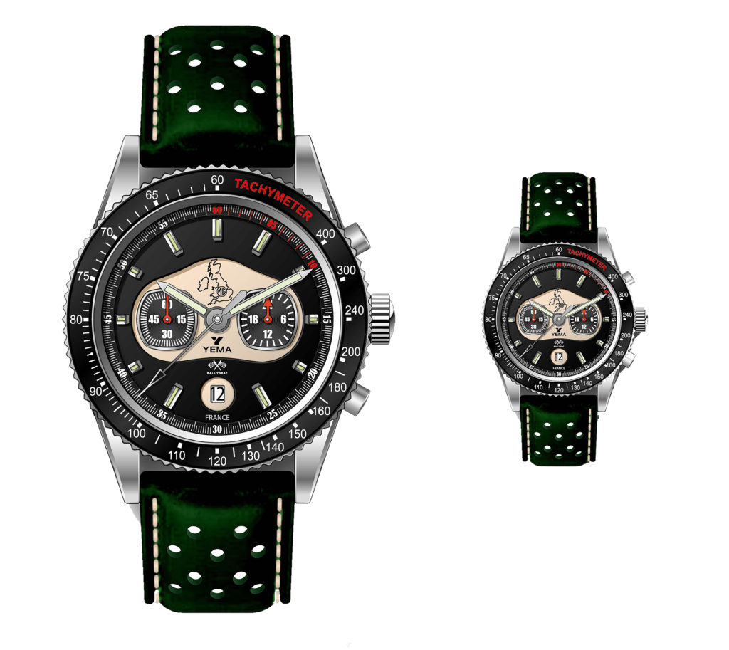 MG Car Club And Yema Watches Team Up To Launch Limited